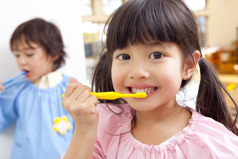 正しい歯磨き方法が身につく